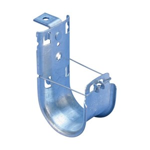 Picture of J-hook -1 5/16 Inch diameter loop-with Angle bracket- 1/4 Inch mounting hole* - Qty 40
