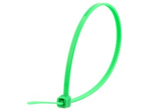 Picture of 8 Inch Green Intermediate Cable Tie - 100 Pack