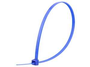 Picture of 11 7/8 Inch Blue Standard Nylon Cable Tie - 100 Pack