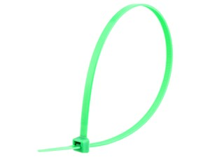 Picture of 11 7/8 Inch Green Standard Nylon Cable Tie - 100 Pack