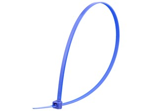Picture of 14 Inch Blue Standard Cable Tie - 100 Pack