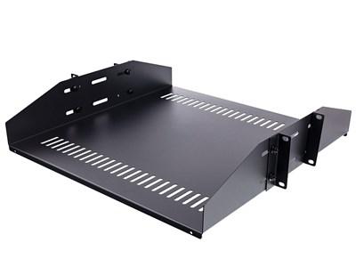 2U Doubled Sided Vented Shelf