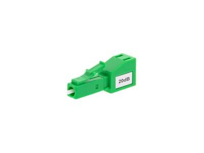 Fiber Optic Attenuator LC/APC 20dB