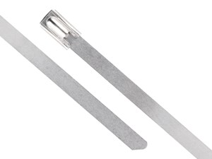 20 Inch Standard Stainless Steel Cable Tie Head and Tail