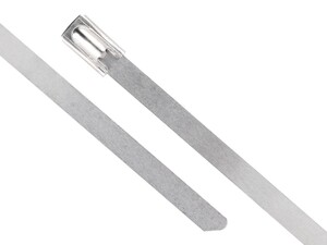 20 Inch Standard 316 Stainless Steel Cable Tie Head and Tail
