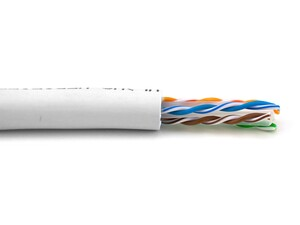 Picture of Category 6A Unshielded Cable - Solid, White, Riser (CMR)  - 1000 FT