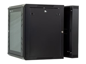 Picture of 12U Swing Out Wall Mount Cabinet - 501 Series, 24 Inches Deep, Flat Packed