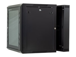 Picture of 9U Swing Out Wall Mount Cabinet - 501 Series, 24 Inches Deep, Flat Packed