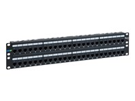 CAT6A UTP Patch Panel With 48 Ports And 2 RMS
