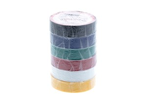 """Picture of Electrical Tape -Standard PVC - 3/4"""" wide x 66 feet long (6 Pack, Electrician Special)"""