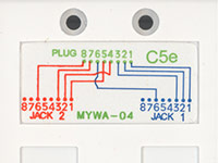 Cat5e Splitter Wiring