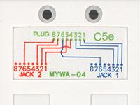 Cat5e Splitter Wiring